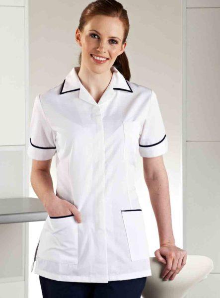 Baju Seragam Perawat – Suster Rumah Sakit Putih KBZ001