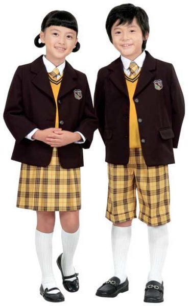 Baju Seragam Sekolah Motif Kotak – Kotak KBZ009