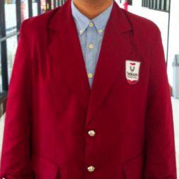 Jas Almamater Merah Maroon Universitas Dan Sekolah