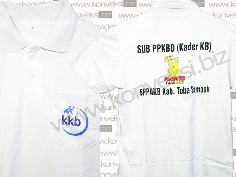 Polo Shirt Keluarga Berencana Kab. Toba Samosir