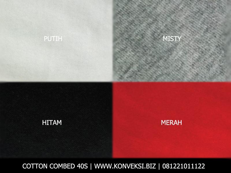 Katalog Warna Cotton Combed 40s