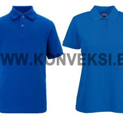 Kaos Polo Berkerah Biru – Bank Mandiri