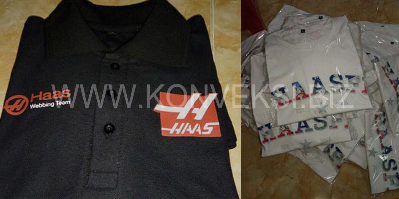 Kaos Polo Haas F1 Team
