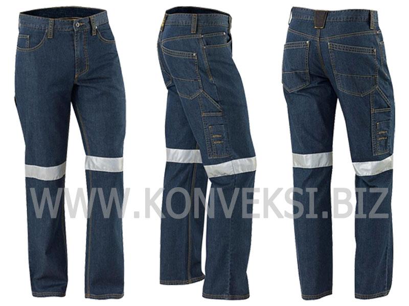 Celana PDL Jeans Seragam Lapangan Tambang