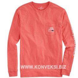 Kaos Pink Lengan Panjang