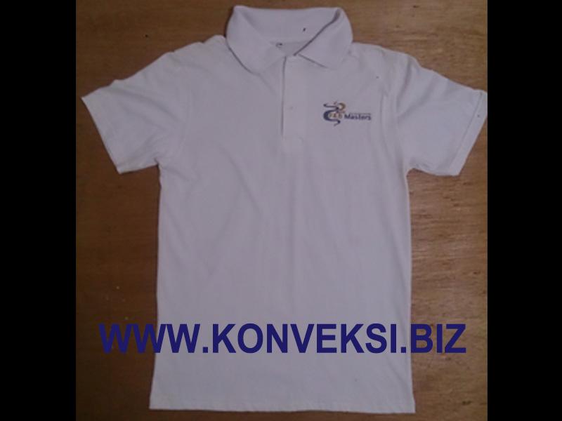 Kaos Chef Berkerah Cotton Combed