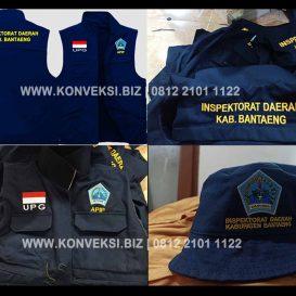 Rompi Dan Topi Inspektorat Kabupaten Bantaeng