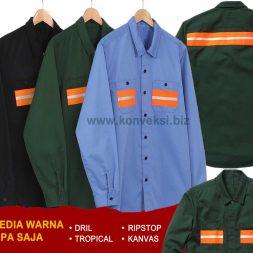 Baju Safety Keren Simpel Bahan Adem