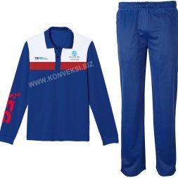 Setelan Baju Olahraga Jasa Raharja