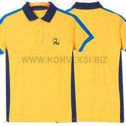 Kaos Kerah Kuning Biru PUPR