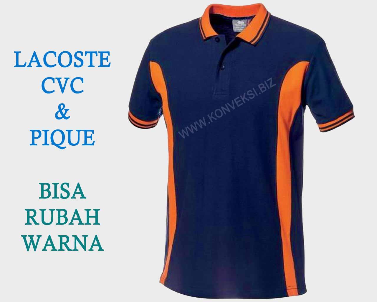 Kaos Kerah Orange Navi Model Terbaru
