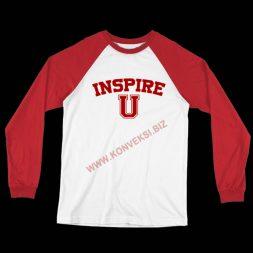 Kaos Olahraga Merah Putih Katun Combed