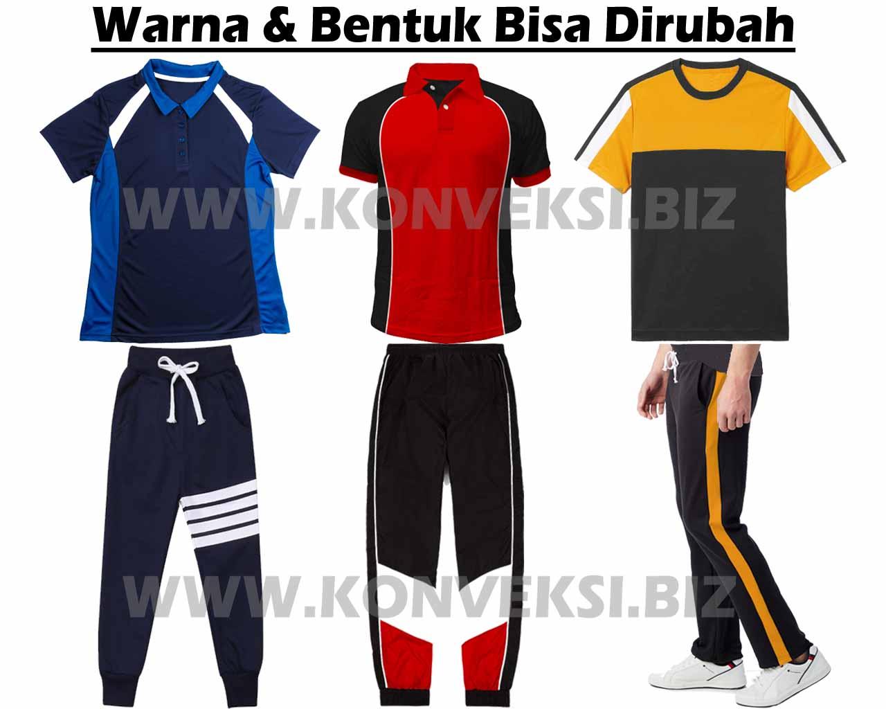 Baju Olahraga SMA SMK