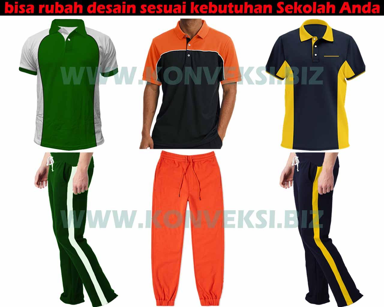 Baju Olahraga SMP Seragam Sekolah