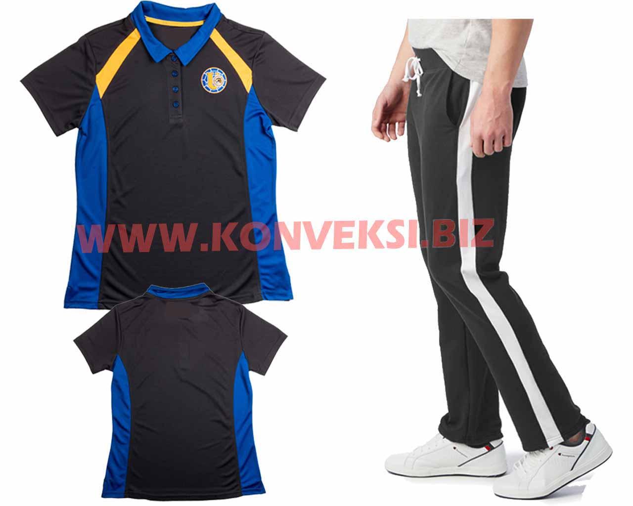 Setelan Baju Seragam Olahraga Desain Keren