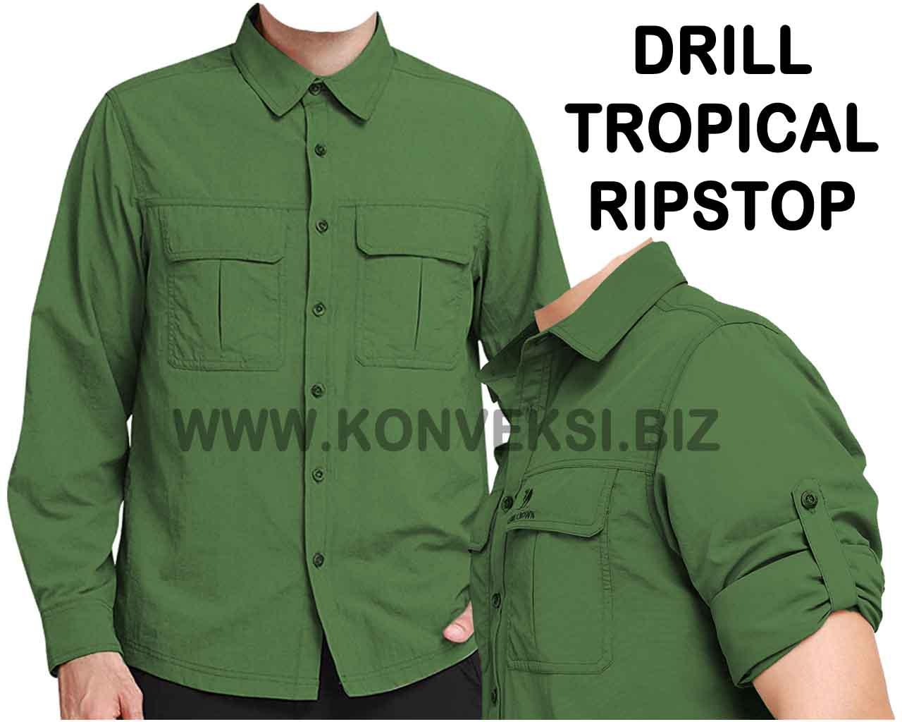 Baju PDL Hijau Army Desain Keren